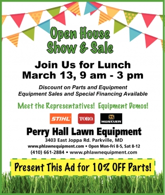 Open House Show & Sale