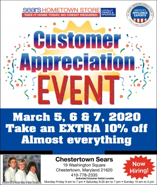 Customer Aprreciation Event