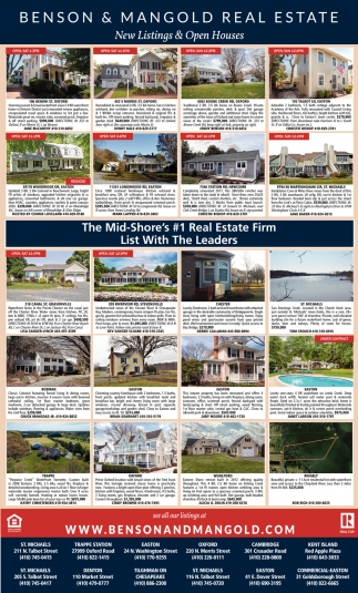 New Listings & Open Houses