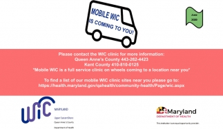 Mobile WIC Is Coming To You