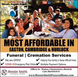 Most Affordable In Easton, Cambridge & Hurlock