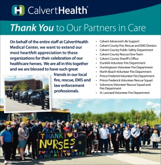 Thank You to Our Partners In Care