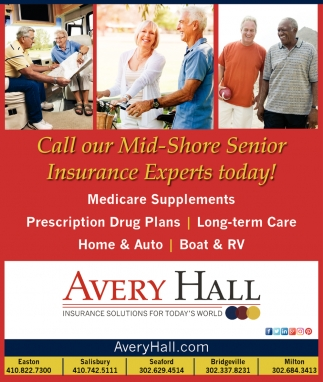 Call Our Mid-Shore Senior Insurance Experts Today