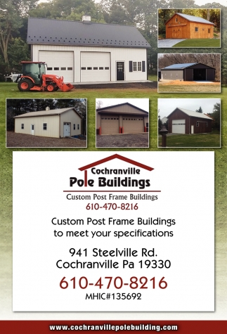 Custom Post Frame Buildings