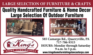 Large Selection of Furniture & Crafts