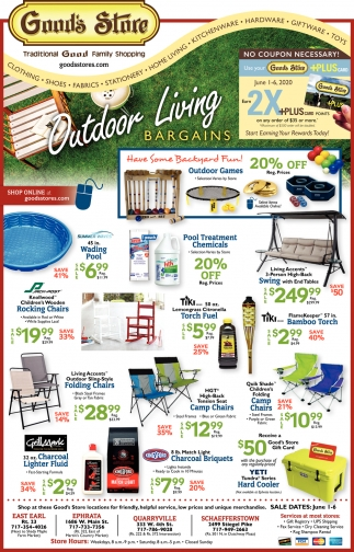 Outdoor Living Bargains