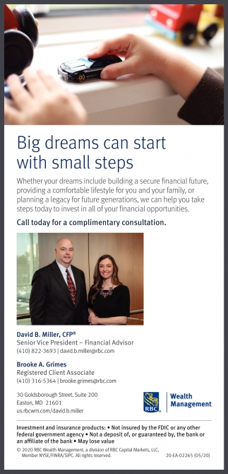Big Dreams Can Start With Smalls Steps