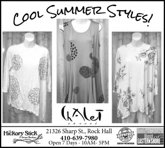 Cool Summer Styles!