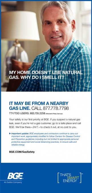 My Home Doesn't Use Natural Gas. Why Do I Smell It?