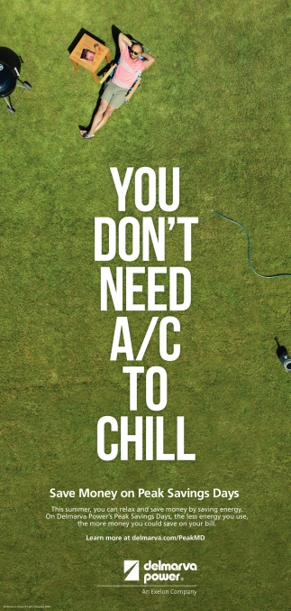 You Don't Need A/C to Chill