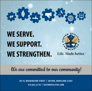 We Are Committed To Our Community!