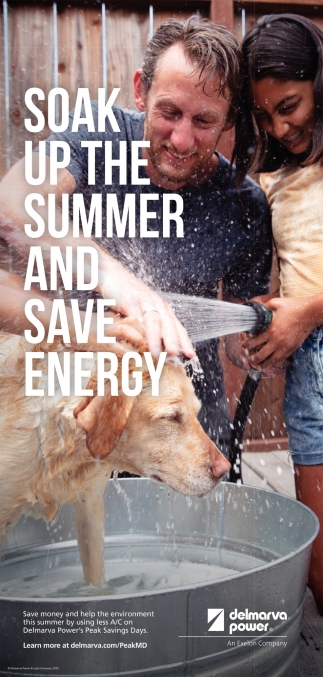 Soak Up The Summer and Save Energy