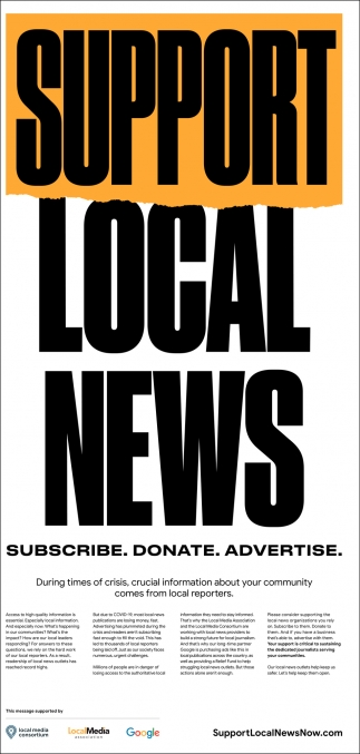 Support Local News