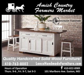 Quality Handcrafted Solid Wood Furniture