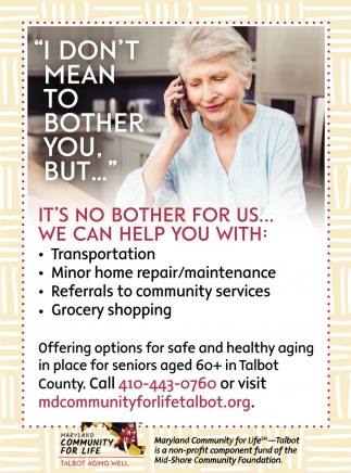 Options For Safe And Healthy Aging In Place for Seniors Aged 60+