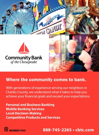 Where the Community Comes to Bank