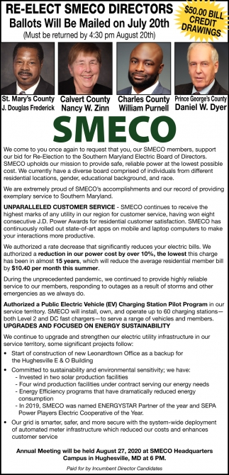 Re-Elect Smeco Directors