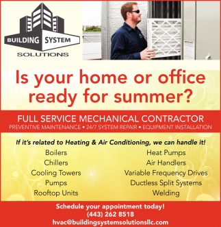 Is Your Home or Office Ready for Summer?