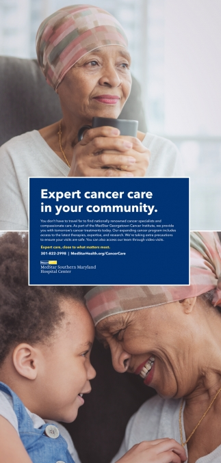 Expert Cancer Care In Your Community