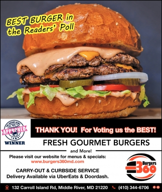 Best Burger In The Readers' Poll
