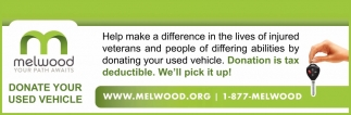 Donate Your Used Vehicle