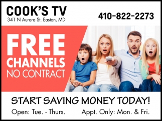 Free Channels No Contract