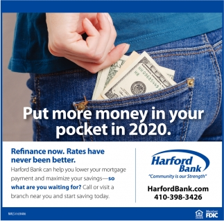 Put More Money In Your Pocket In 2020