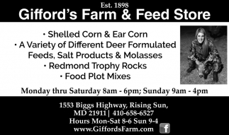 Shelled Corn & Earn Corn
