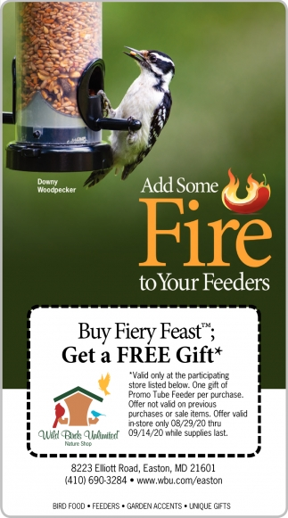 Add Sime Fire To Your Feeders