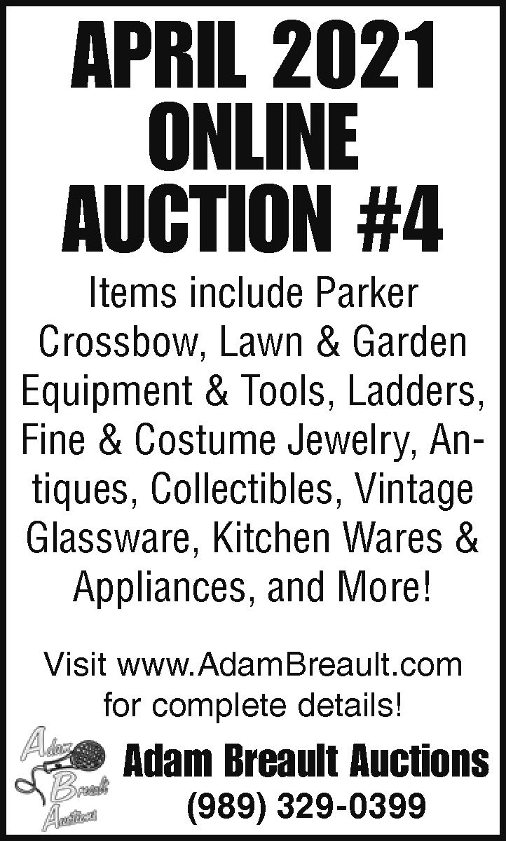 April Auction #4