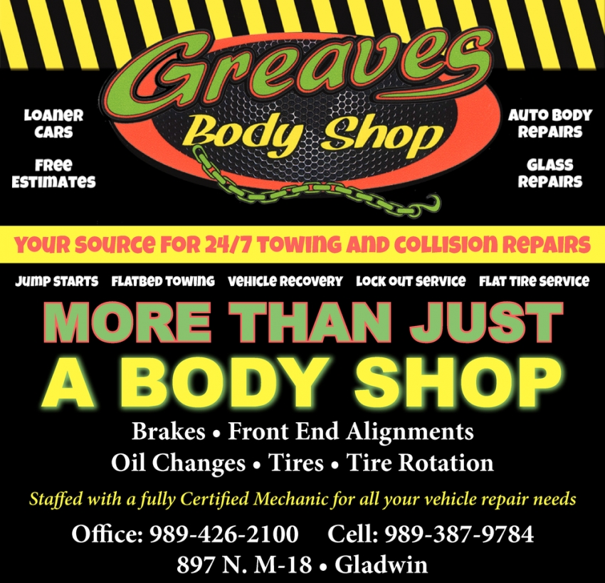 More Than Just a Body Shop