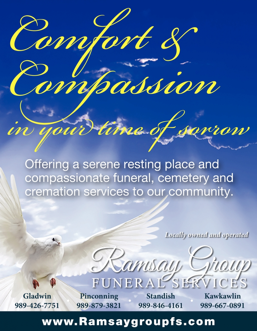 Comfort & Compassion in Your Time of Sorrow