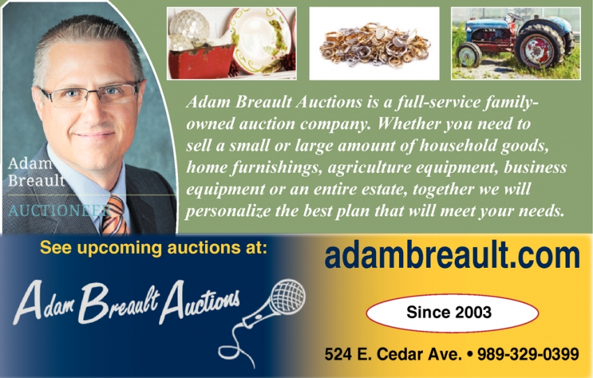 See Upcoming Auctions