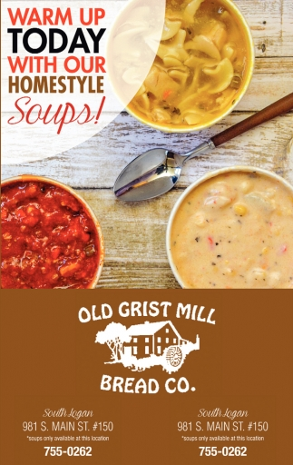 Warm Up Today With Our Homestyle Soups!