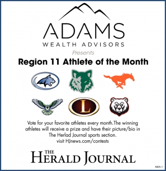 Region 11 Athlete Of The Month