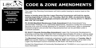 Code & Zone Amendments