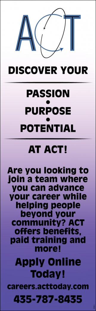 Discover Your Passion, Purpose, Potential