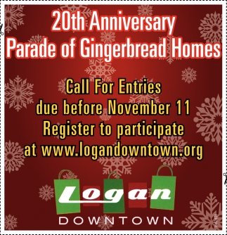 20th Anniversary Parade Of Gingerbread Homes