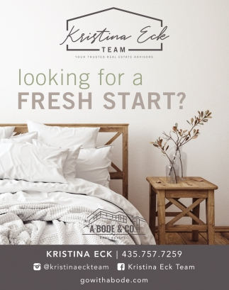 Looking For A Fresh Start?