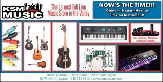 The Largest Full Line Music Store In The Valley