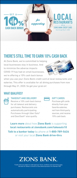 There's Still Time To Earn 10% Cash Back