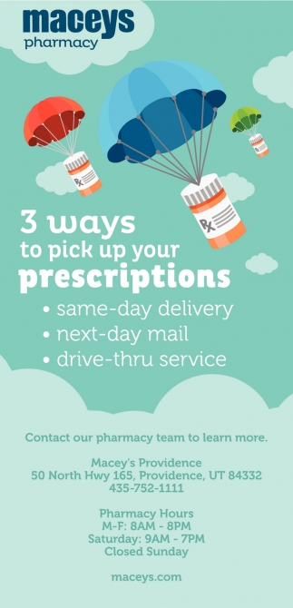 3 Ways To Pick Up Your Prescriptions