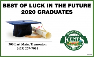 Best Of Luck In The Future 2020 Graduates