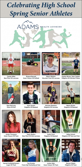 Celebrating High School Spring Senior Athletes