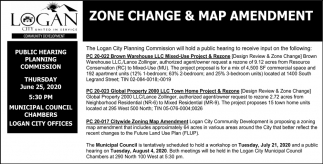 Zone Change & Map Amendment