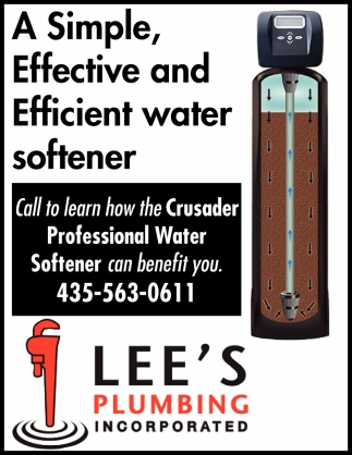A Simple, Effective And Efficient Water Softener