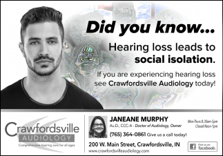 Did You Know... Hearing Loss Leads to Social Isolation