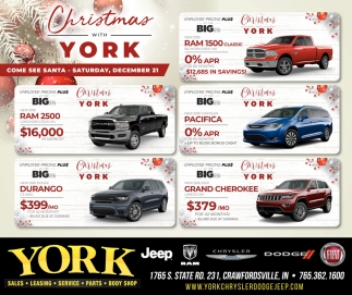 Christmas with York