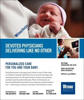 Personalized Care for You and Your Baby