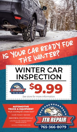 Is Your Car Ready for the Winter?
